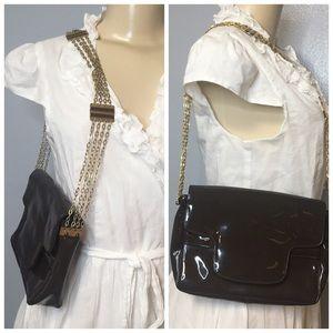Vintage Modern SAKS FIFTH AVENUE Leather Bag